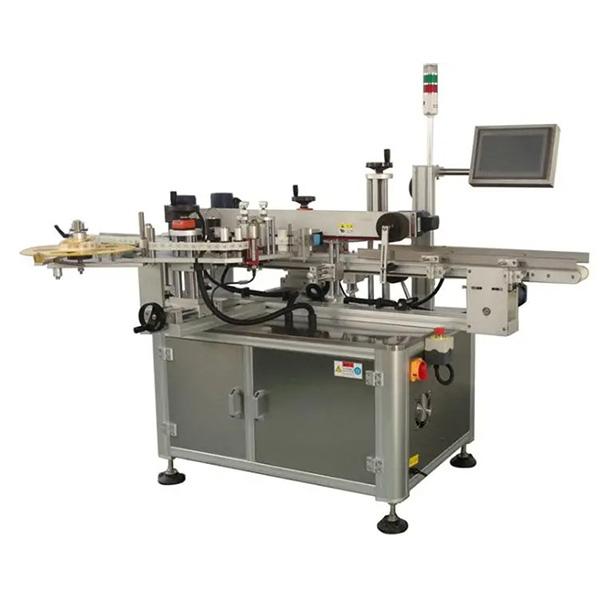Автоматична машина для наклейки кутових картонних коробок - одна або дві бічні машини для етикетування коробки